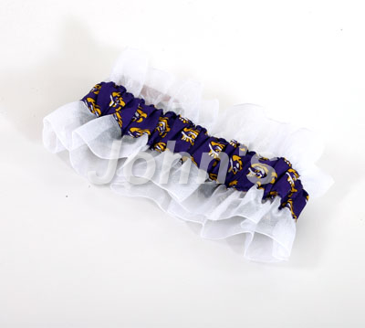 Purple LSU Garter
