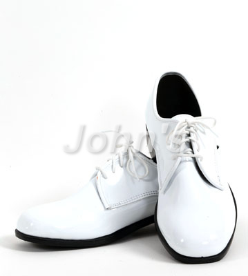 White Lace-up Shoe