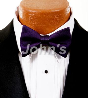 Amethyst Simply Solid Bow Tie