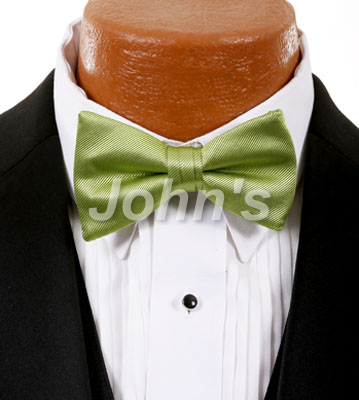 Apple Green Simply Solid Bow Tie