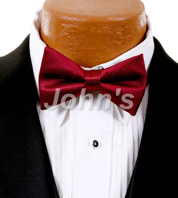 Apple Simply Solid Bow Tie