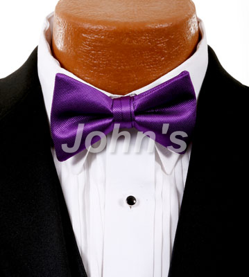 Aster Simply Solid Bow Tie