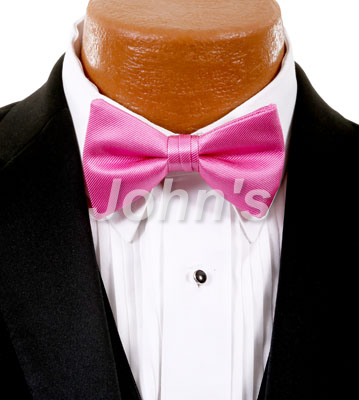 Bubble Gum Simply Solid Bow Tie