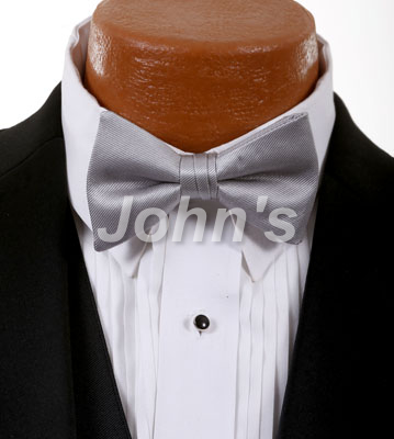 Cement Simply Solid Bow Tie