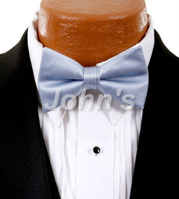 Desert Blue Simply Solid Bow Tie