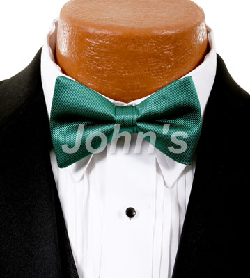 Emerald Simply Solid Bow Tie