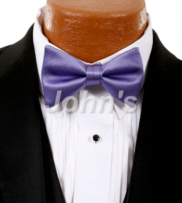 Freesia Simply Solid Bow Tie