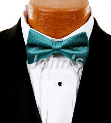 Jade Simply Solid Bow Tie