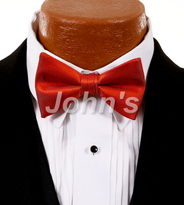 Jalapeno Simply Solid Bow Tie