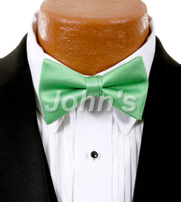 Kelly Green Simply Solid Bow Tie