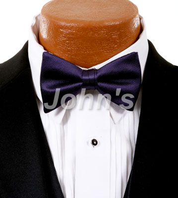 Lapis Simply Solid Bow Tie