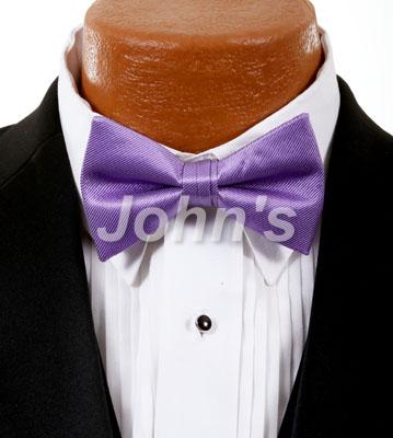 Lavender Simply Solid Bow Tie