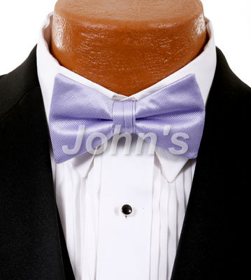 Lilac Simply Solid Bow Tie