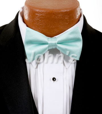 Mint Simply Solid Bow Tie