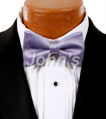 Orchid Simply Solid Bow Tie