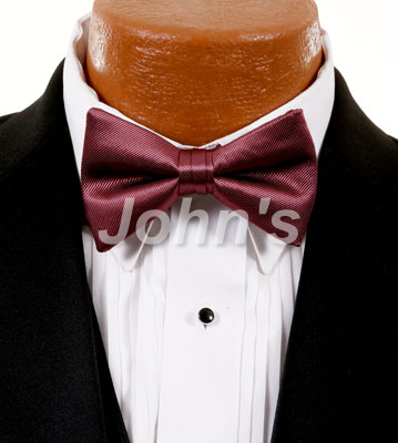 Rosewood Simply Solid Bow Tie