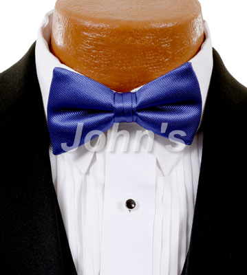 Saphire Simply Solid Bow Tie