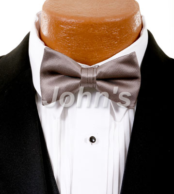 Stone Simply Solid Bow Tie