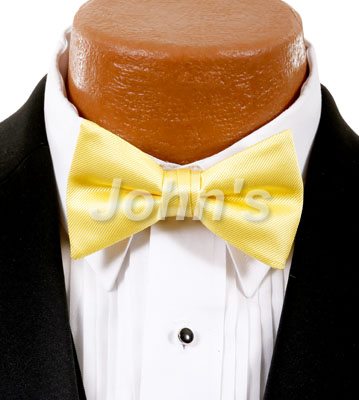 Sunbeam Simply Solid Bow Tie