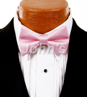 Tea Rose Simply Solid Bow Tie