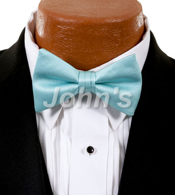 Tiffany Blue Simply Solid Bow Tie