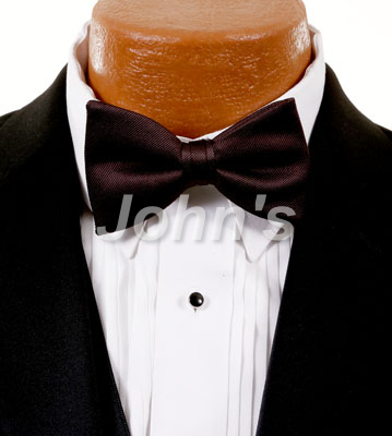 Truffle Simply Solid Bow Tie