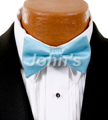 Turquoise Simply Solid Bow Tie