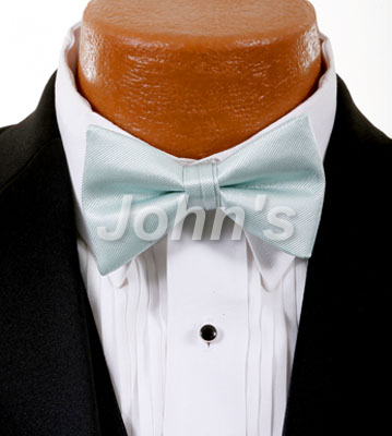 VW Mint Simply Solid Bow Tie