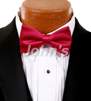 Watermelon Simply Solid Bow Tie