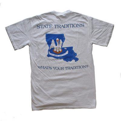 Louisiana Tradition White T-Shirt