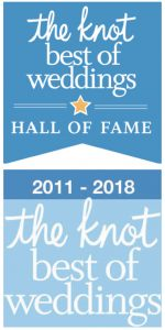 Graphic for The Knot's best of weddings recognizing a good men's clothing store in New Orleans, LA
