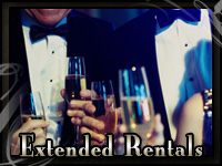 Gentlemen wearing one of the tuxedo rentals from John's Tuxedos in Metairie, LA