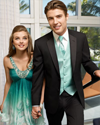 Match your prom date's color,