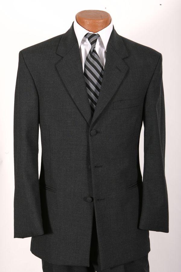 Grey Rental Suit 3-Button