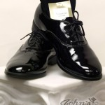 Black Traditional Lace Shoe