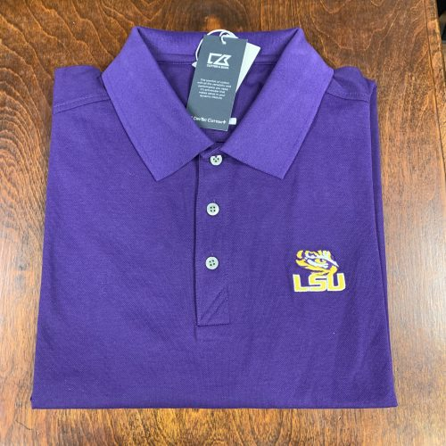 Purple LSU Polo