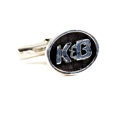 K&B Sterling Cufflinks