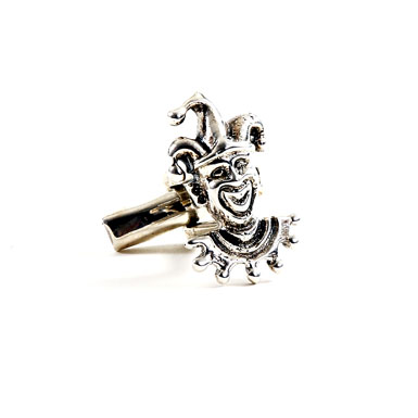 Jester Sterling Cufflinks