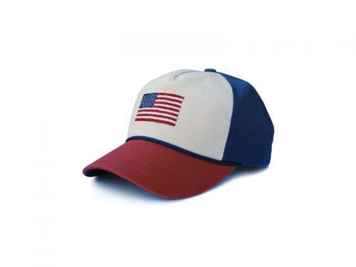American Flag Rope Snapback