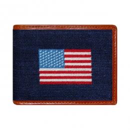 Smathers & Branson American Flag Bi-Fold Wallet