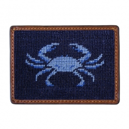 Blue Crab Card Wallet