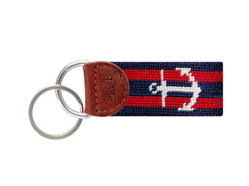 Striped Anchor Navy & Red