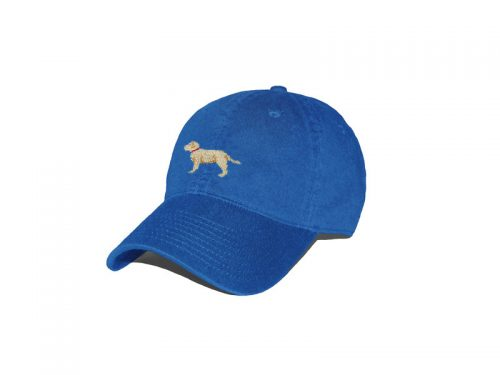 Yellow Lab Royal Blue Hat
