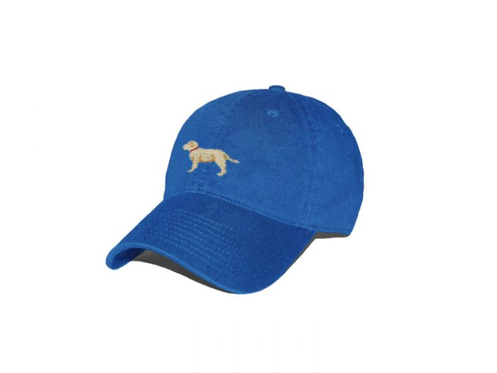 Yellow Lab Royal Blue Hat