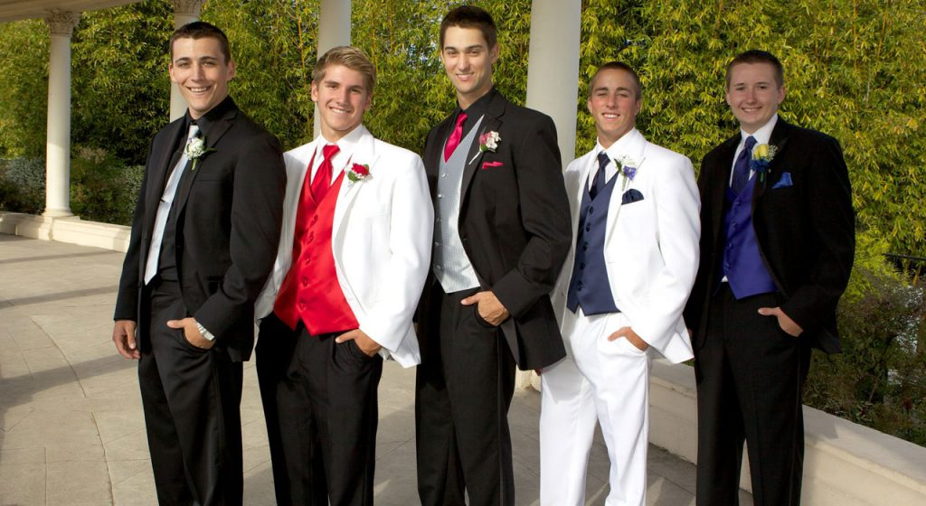 suit or tux for any black-tie occasion