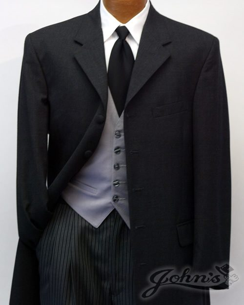 Daytime Tuxedo Claiborne Morning Suit with Striped Pants
