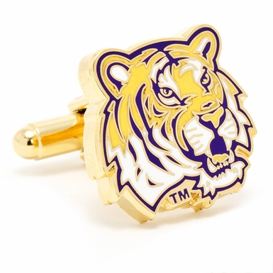 LSU Tiger's Cufflinks