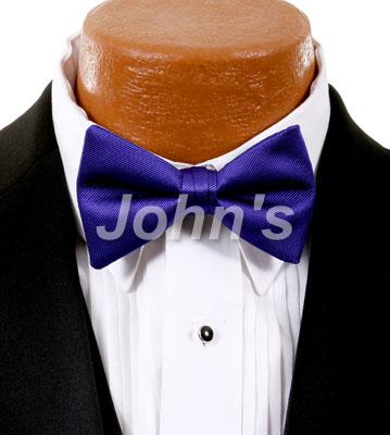 8d5d60e3641b Purple Storm Simply Solid Bow Tie - John's Tuxedos