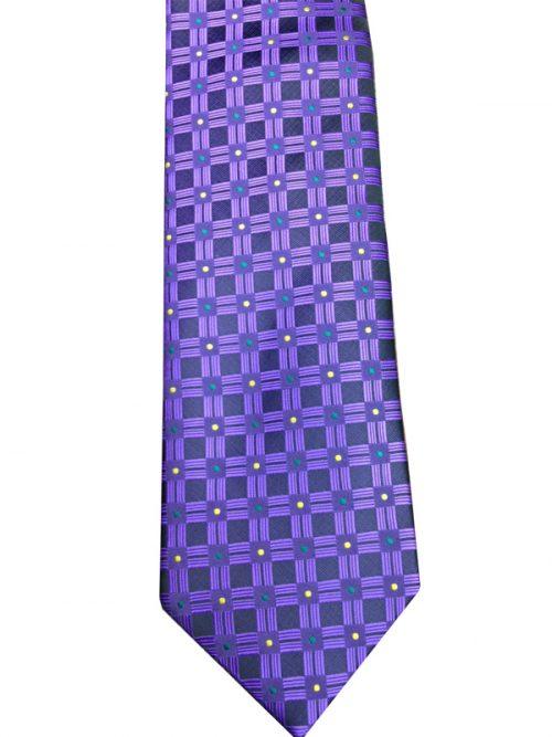 Mardi Gras Square Neck Tie