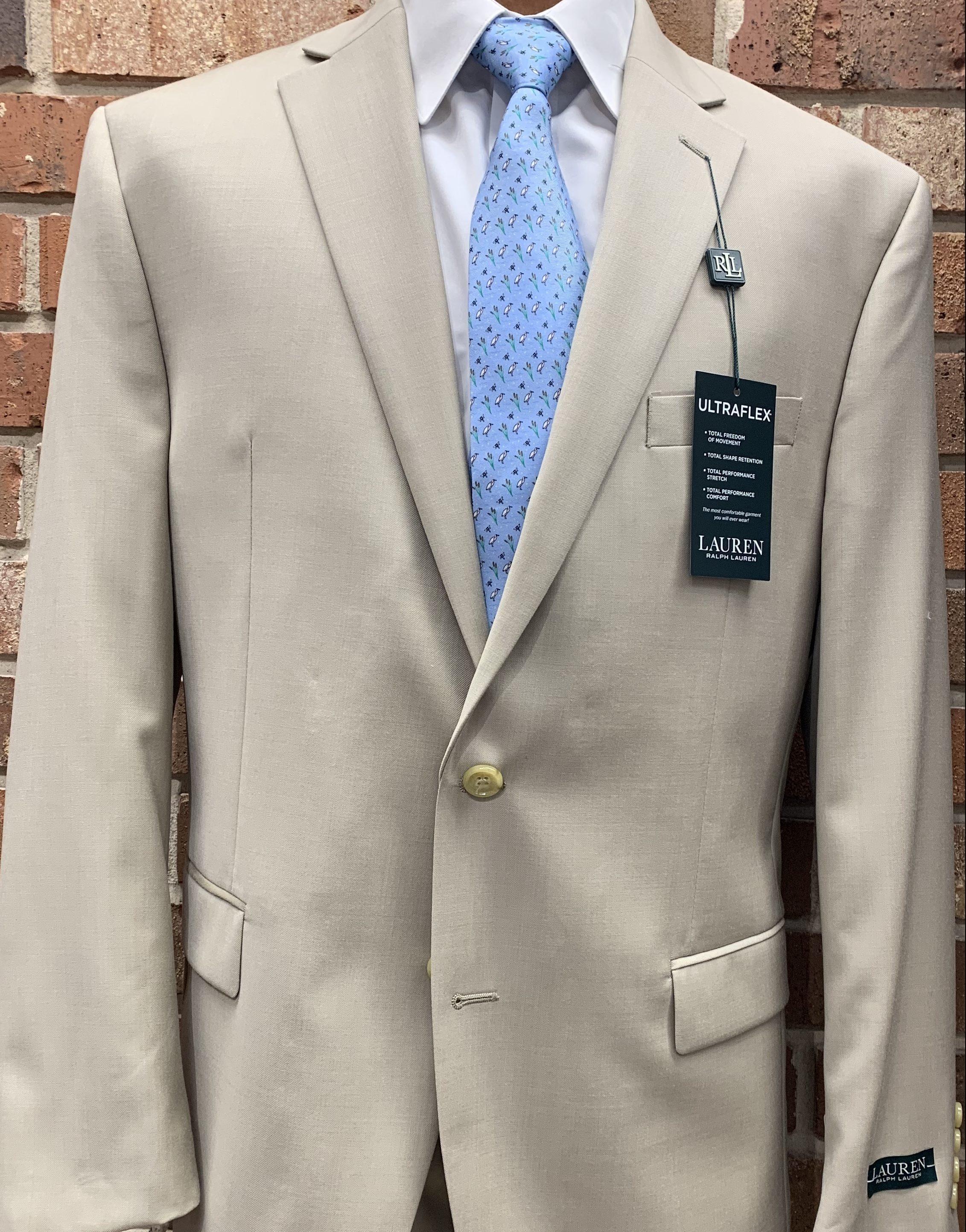 Ralph Lauren Tan Suit
